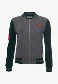 Superdry - Zip-up sweatshirt - enamel green - 3