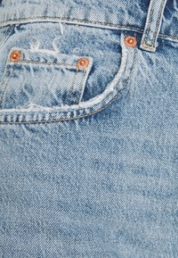Gina Tricot - HIGH WAIST - Jeans relaxed fit - blue destroy - 2
