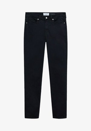 VALENTIN - Jean droit - black denim