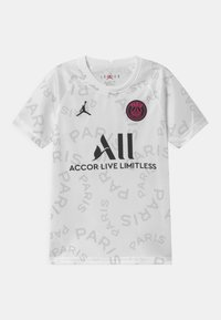 Nike Performance - PARIS ST GERMAIN UNISEX - Club wear - white/black - 0
