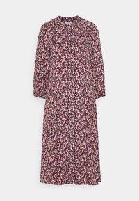 Moss Copenhagen - KAROLA RAYE DRESS - Shirt dress - black/lavender - 4