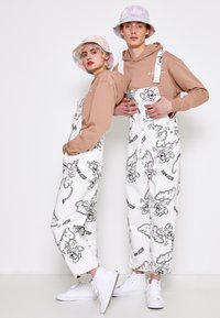 AS IF Clothing - RIZZO MOUSE DUNGAREE UNISEX - Snekkerbukse - white - 0