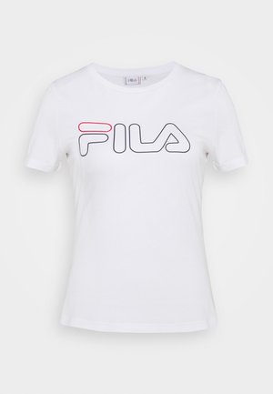 LADAN TEE - Print T-shirt - bright white