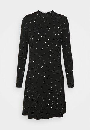 SPOT SWING - Žerzejové šaty - black