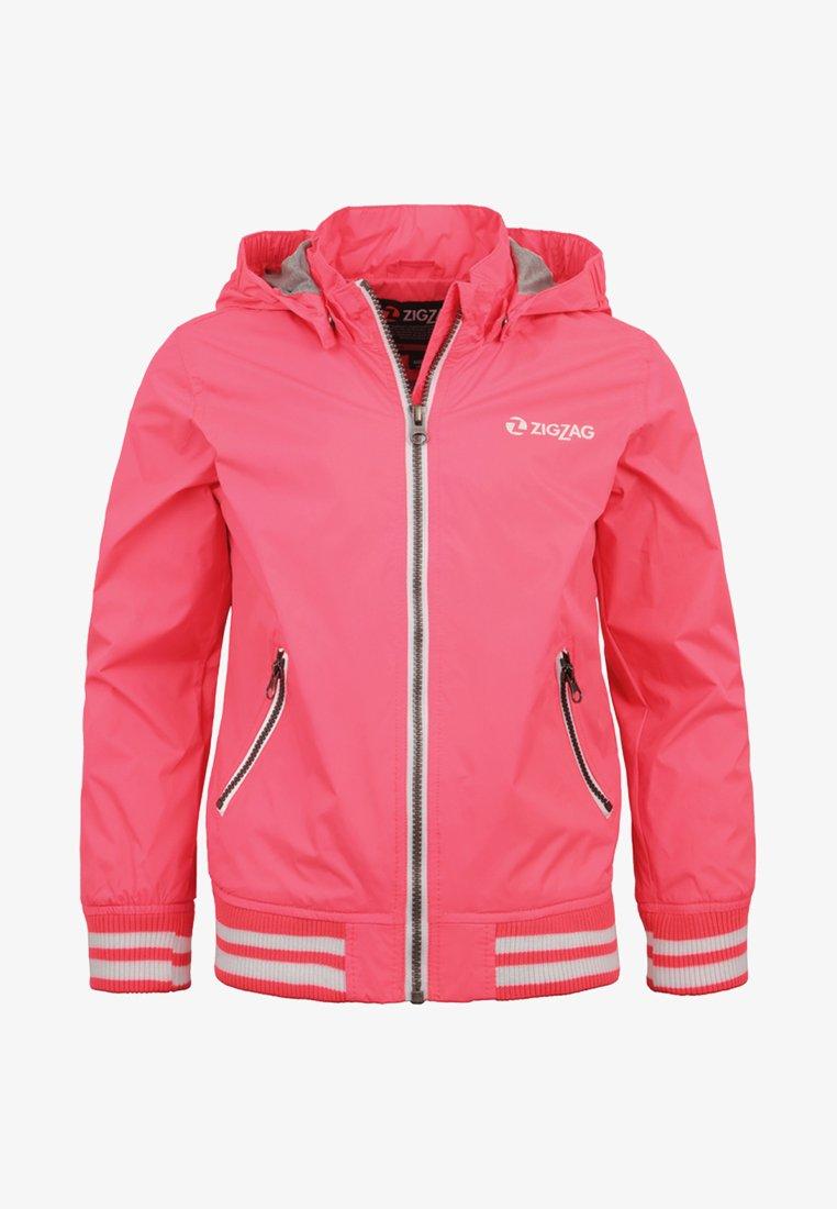 ZIGZAG - DIJON - Outdoor jacket - diva pink