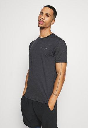 MELANGE TEE - T-shirt basique - black