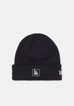 PRINTED PATCH UNISEX - Beanie - navy