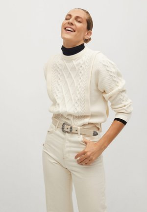 OVERALL - Sweter - écru