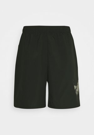 SHORT CAMO - Sports shorts - sequoia