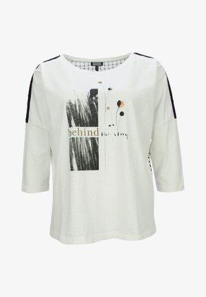 3/4 ARM - Pitkähihainen paita - offwhite