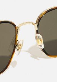Mont Blanc - UNISEX - Sunglasses - havana/gold-coloured/grey - 5
