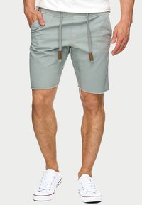 INDICODE JEANS - CARVER - Denim shorts - grey - 0
