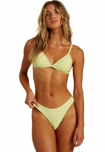 TANLINES IVY - Bikini top - shadow lime