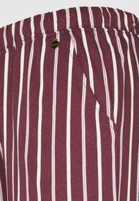 LASCANA - PANTS - Pyjama bottoms - bordeaux - 2