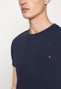 Superdry - VINTAGE TEE - Basic T-shirt - rich navy - 4