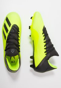 adidas Performance - X 18.3 FG - Moulded stud football boots - solar yellow/core black/footwear white - 1