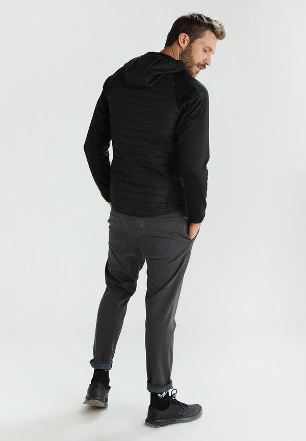 Jack & Jones JCOMULTI QUILTED JACKET - Kurtka Outdoor - black/czarny Odzież Męska VTVK