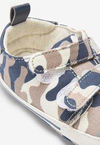 Next - Touch-strap shoes - blue/beige - 4