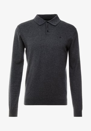 Jumper - dark grey melange