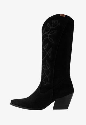 CENTA - Kovbojské/motorkářské boty - black