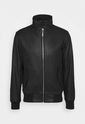 JAKE - Faux leather jacket - black