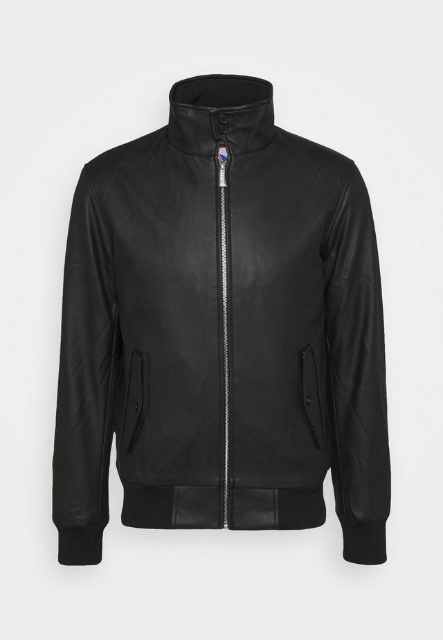 JAKE - Veste en similicuir - black