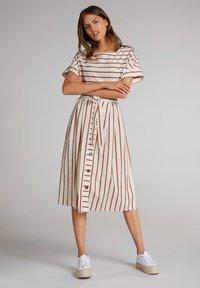 Oui - A-line skirt - rose dust - 1