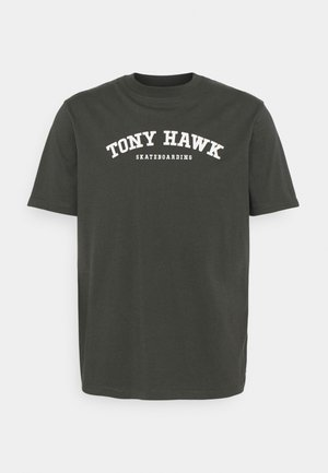 NYJAH UNISEX - T-shirt print - raven