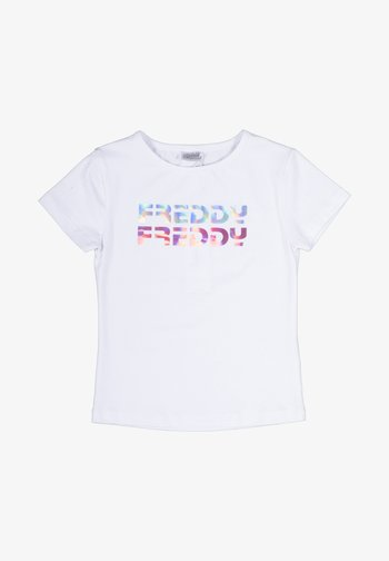 BAMBINA - Print T-shirt - bianco