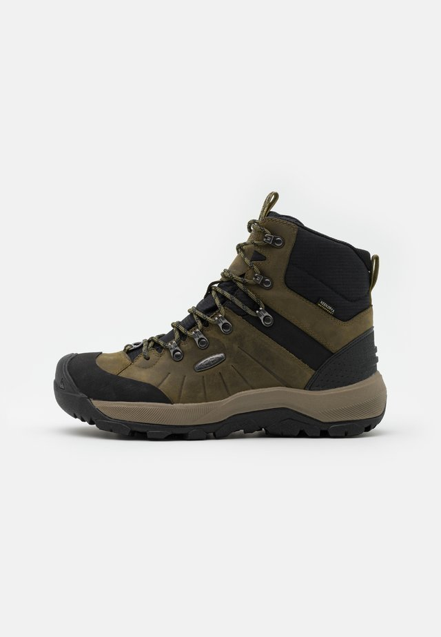 REVEL IV MID POLAR - Snowboot/Winterstiefel - dark olive/black