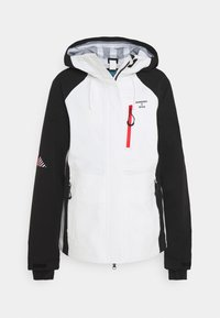 Superdry - ALPINE SHELL JACKET - Hardshell jacket - white - 4