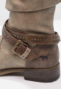 Mustang - Cowboy/Biker boots - taupe - 6