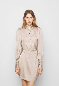 DESIGNERS REMIX - GIULIA SHORT DRESS - Cocktail dress / Party dress - beige - 0