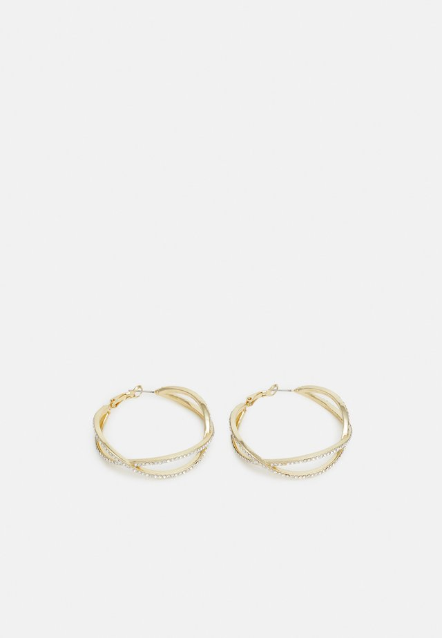 FRANCIS BIG OVAL EAR - Earrings - gold-coloured