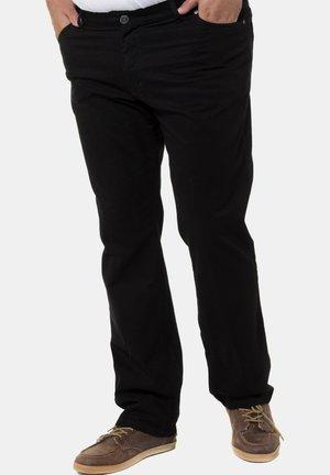 Straight leg -farkut - schwarz