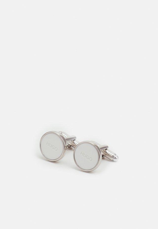 Boutons de manchette - open white