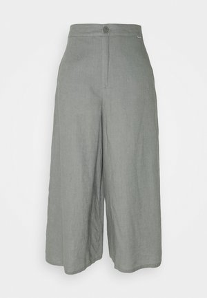 CYDER PANTS WOMAN - Pantalon classique - charcoal khaki