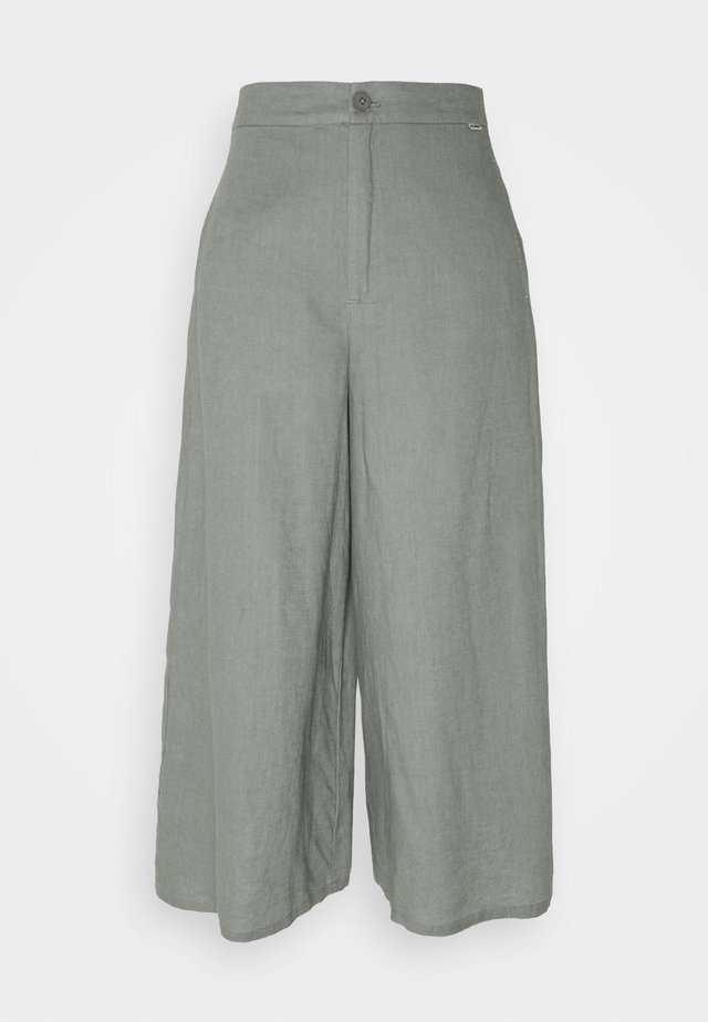 CYDER PANTS WOMAN - Pantalones - charcoal khaki