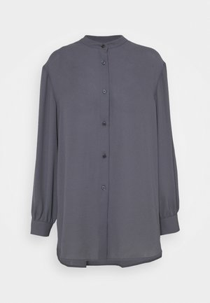 LAYLA BLOUSE - Button-down blouse - metal
