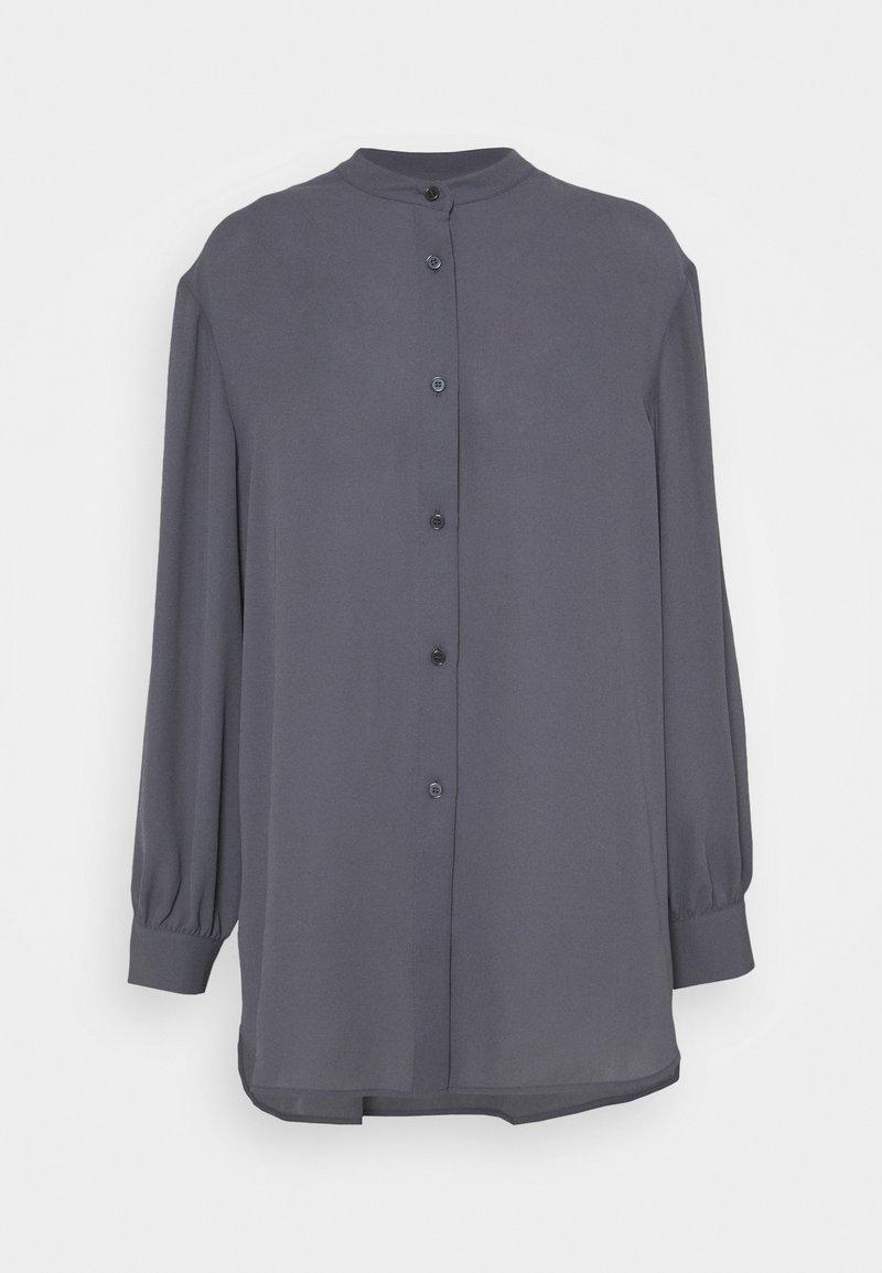 Filippa K - LAYLA BLOUSE - Button-down blouse - metal