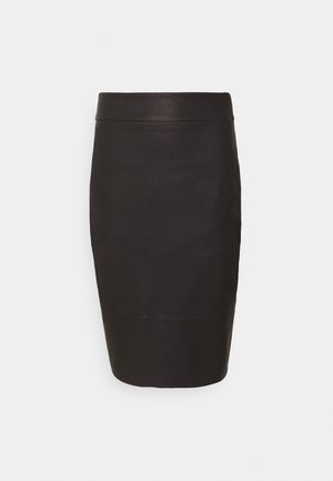 ALEX PENCIL SKIRT - Pencil skirt - chocolate