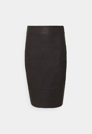 ALEX PENCIL SKIRT - Pouzdrová sukně - chocolate