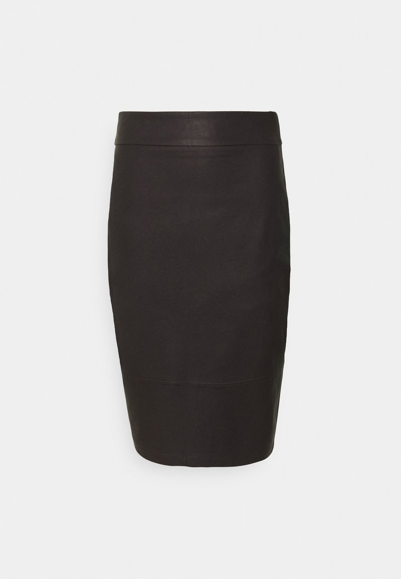 Forever New - ALEX PENCIL SKIRT - Jupe crayon - chocolate