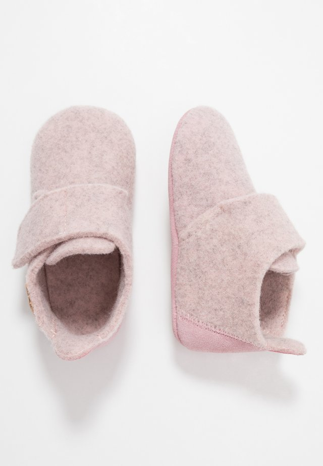WOOL SLIPPERS - Pantofole - blush