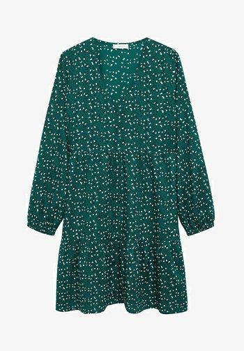 BELLES - Robe chemise - groen
