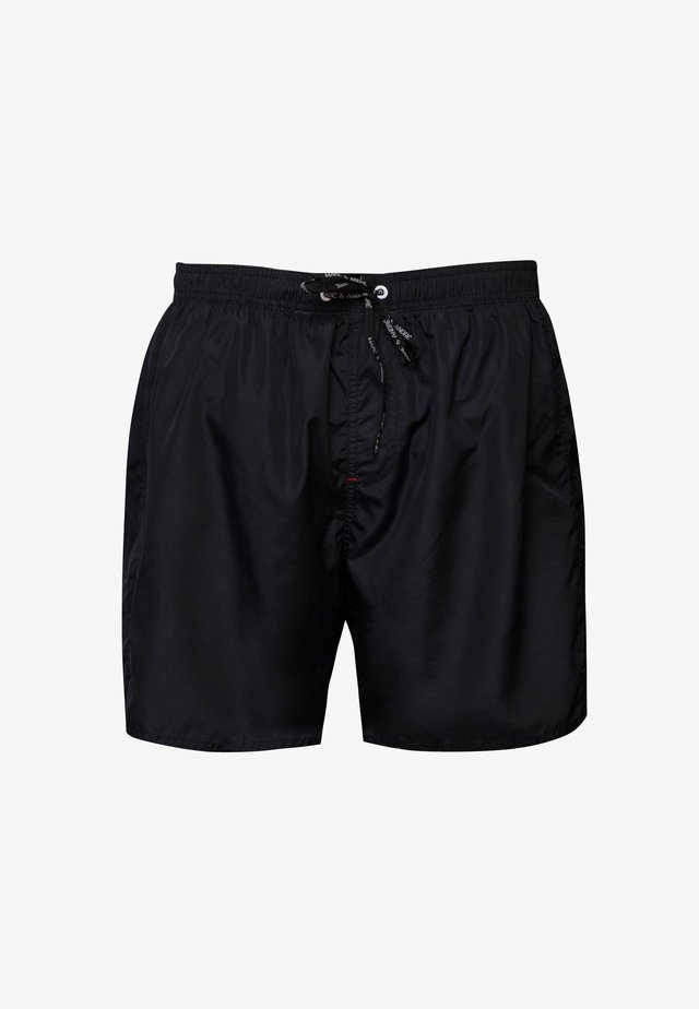 Swimming shorts - black denim