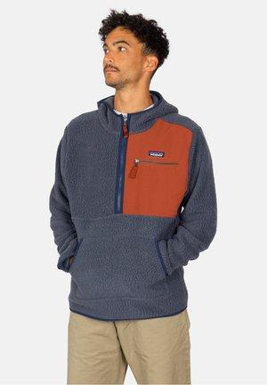 RETRO PILE - Fleece jumper - smolder blue
