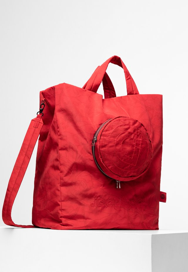SHOPPING BAG OLYMPIA - Schoudertas - red