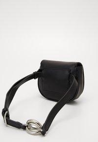 Calvin Klein - CHAIN BELT BAG - Bum bag - black - 0