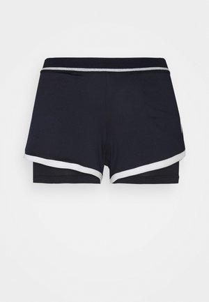 SHORTS WOMAN - Sports shorts - night sky/blanc de blanc